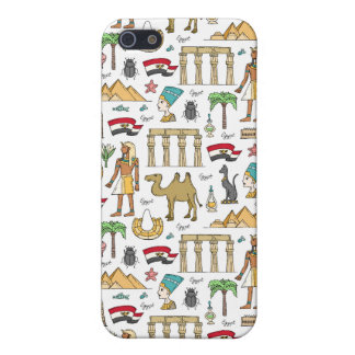 Color Symbols of Egypt Pattern iPhone 5/5S Case