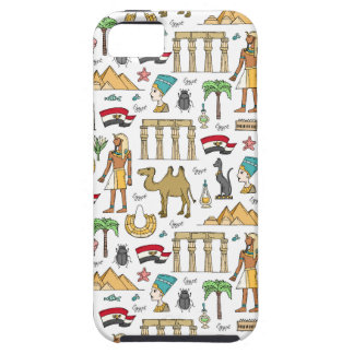 Color Symbols of Egypt Pattern iPhone 5 Case