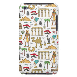 Color Symbols of Egypt Pattern iPod Case-Mate Cases