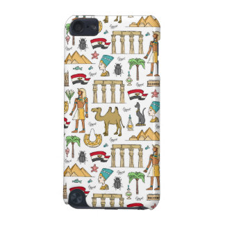Color Symbols of Egypt Pattern iPod Touch 5G Cover