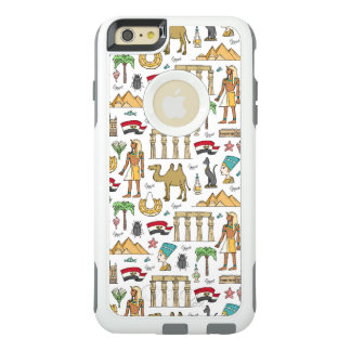 Color Symbols of Egypt Pattern OtterBox iPhone 6/6s Plus Case