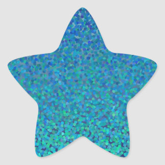 Color Theory : Cool Harmony Star Sticker