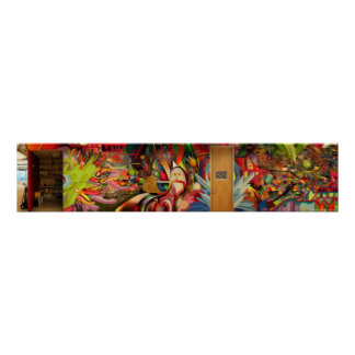 Color Therapy Mural @ Zazzle Poster