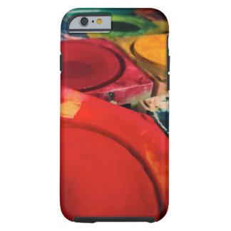 Color Tusche Indian Ink Paint Boxes Watercolor Art Tough iPhone 6 Case