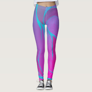 Color Twist (Berry Blast) Leggings
