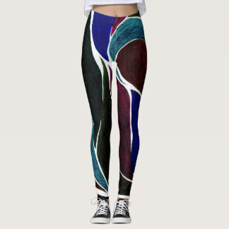 Color Twist (Darkest Dark) Leggings