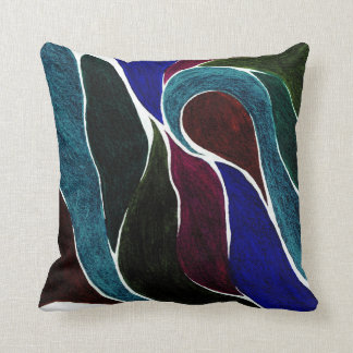 Color Twist (Darkest Dark) Pillow