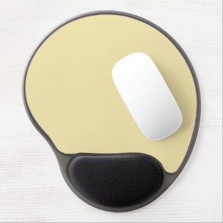 color vanilla gel mouse pad