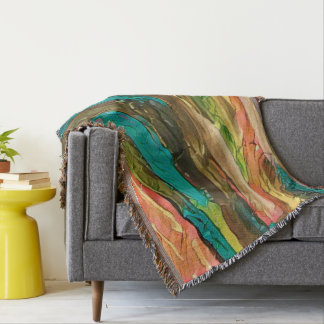 Color Vines Throw