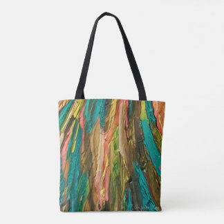 Color vines tote