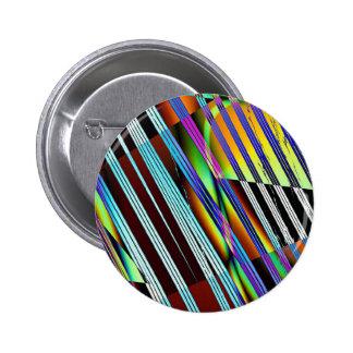 Color Vortex 6 Cm Round Badge