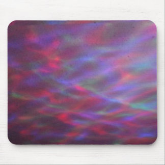 color waves mouse pad