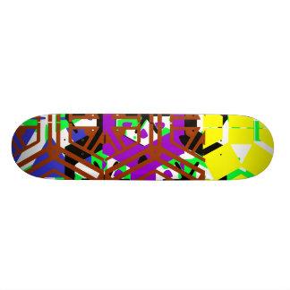 color web skateboard