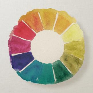 Color Wheel #1 Pillow