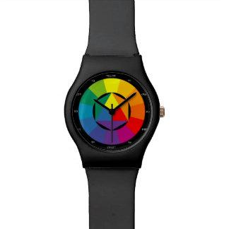 Color Wheel Artist Watch