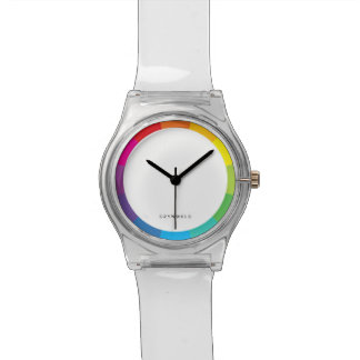 color wheel clear watch