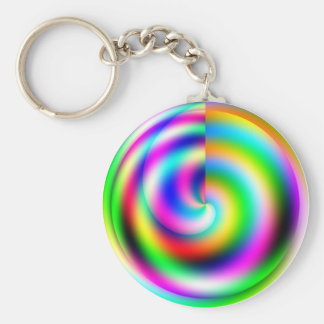 Color Wheel Keychain