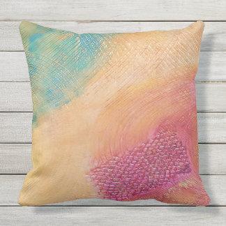 Color Wheel Outdoor Cushion