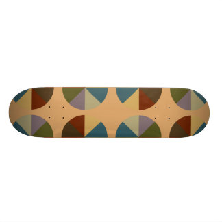 Color Wheel Tan Skate Decks
