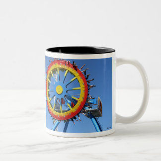 Color Wheel Two-Tone Coffee Mug