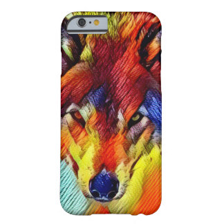 Color Yarn Wolf Abstract Wildlife iPhone 6/6s Case