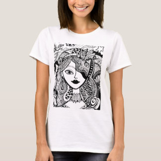 Color Your Own Zendoodle Products T-Shirt