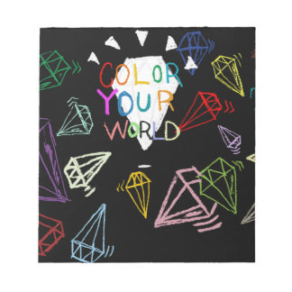 color your world notepad