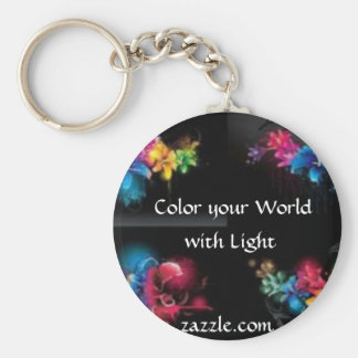 Color Your World with Light Keychain
