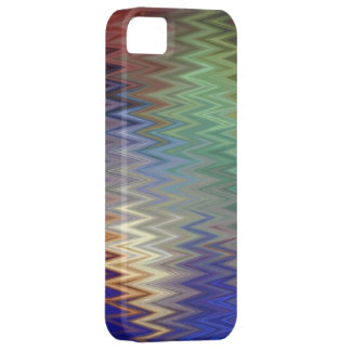 Color Zigzag iPhone SE/5/5S Barely There Case