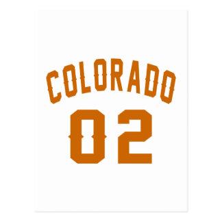 Colorado 02 Birthday Designs Postcard