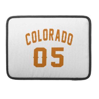 Colorado 05 Birthday Designs MacBook Pro Sleeves
