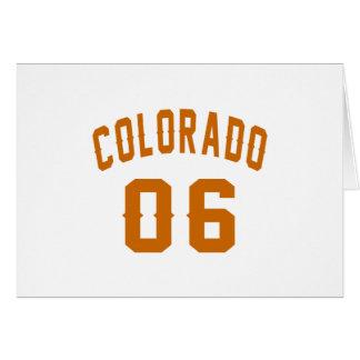 Colorado 06 Birthday Designs Card