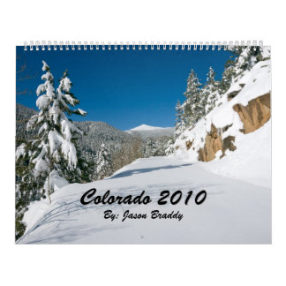 Colorado 2010 wall calendars
