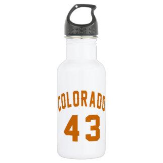 Colorado 43 Birthday Designs 532 Ml Water Bottle