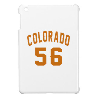 Colorado 56 Birthday Designs iPad Mini Cover