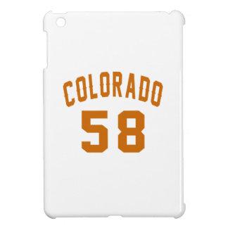 Colorado 58 Birthday Designs iPad Mini Covers