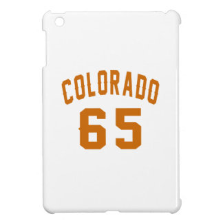 Colorado 65 Birthday Designs iPad Mini Cases