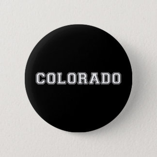 Colorado 6 Cm Round Badge
