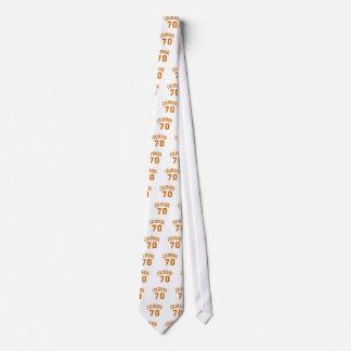 Colorado 70 Birthday Designs Tie