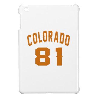 Colorado 81 Birthday Designs iPad Mini Covers