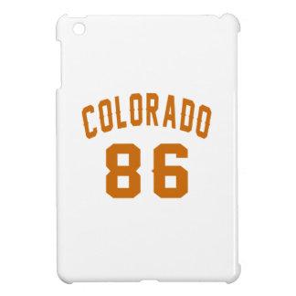 Colorado 86 Birthday Designs iPad Mini Cover