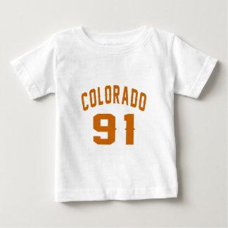 Colorado 91 Birthday Designs Baby T-Shirt
