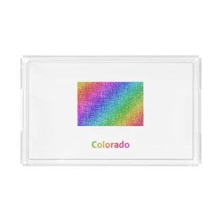 Colorado Acrylic Tray