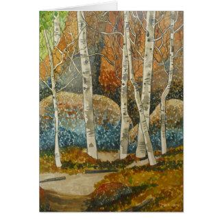 Colorado Aspens Card