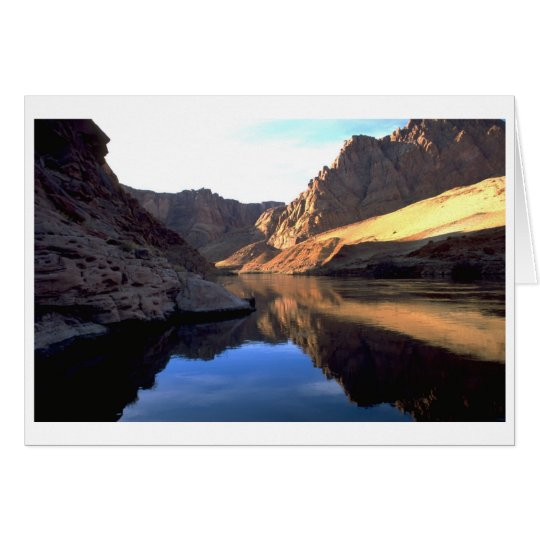 Colorado at Sunrise Card