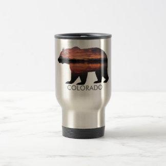 Colorado Bear | Sunset | Silver Mug