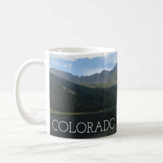 Colorado Beautiful Mountains and Serene Lake Mug