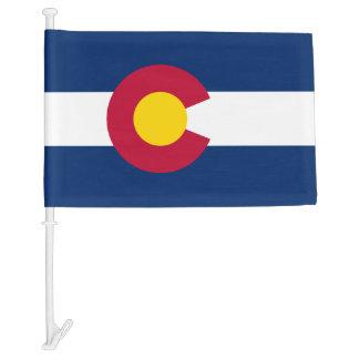 Colorado Car Flag