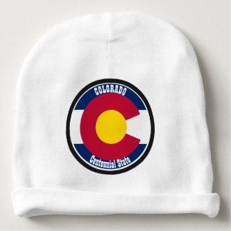 Colorado Circular Flag Baby Beanie