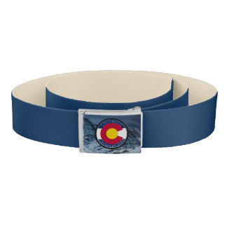Colorado Circular Flag Belt